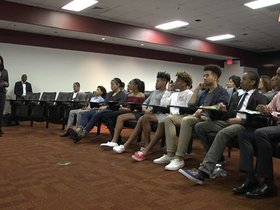 Watch: Redskins Host College Planning Program