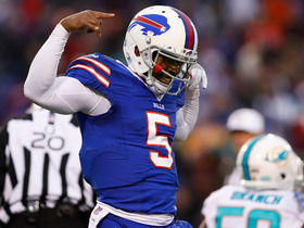 Watch: Bills keeping Tyrod Taylor as they prep a future QB?