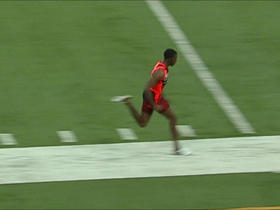 Watch: Combine Games- 40 yard dash- wide receiver edition