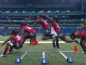 Watch: Combine games- broad jump edition