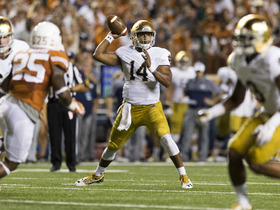 Watch: Peter Schrager's pre-combine mock draft- DeShone Kizer