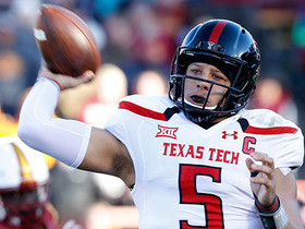Watch: Mike Mayock: Patrick Mahomes is pushing closer to the first round conversation