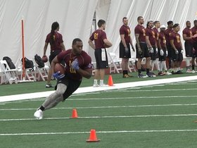 Watch: Redskins Host Washington Regional Combine