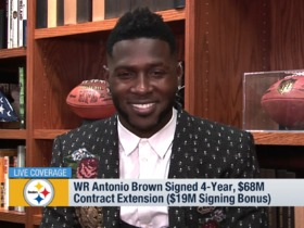 Watch: Antonio Brown on scouting reports that got him wrong: 'Everyone makes mistakes'