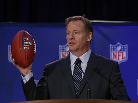 Watch: Goodell reacts to a potential education video for player celebrations