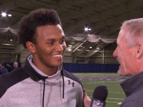 Watch: DeShone Kizer: 'My ultimate goal is to win a Super Bowl'