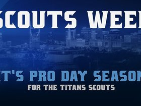 Watch: Scouts Week: It's Pro Day Season