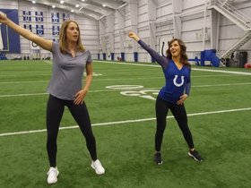 Watch: Hair Whips & Leg Kicks: A Lesson In Colts Cheer