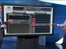 Watch: Where will Mike Mayock's top 5 Draft QBs end up?