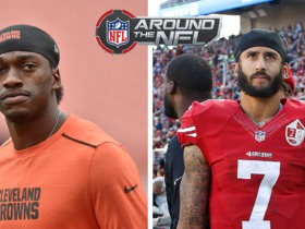 Watch: More likely to start 5 games: RGIII or Colin Kaepernick?