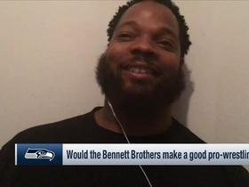 Watch: Michael Bennett makes case for signing Kap, Lynch