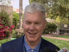Watch: Thompson: Replacing Lang 'won't be an easy task'