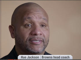 Watch: Hue Jackson discusses his draft strategy and future of Brock Osweiler