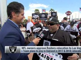Watch: Las Vegas residents react to Raiders relocation
