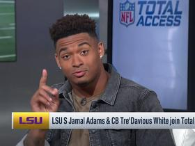 Watch: Jamal Adams and Tre'Davious White explain why they should be top draft picks