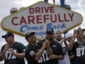 Watch: Fan reaction to Raiders relocation to Las Vegas
