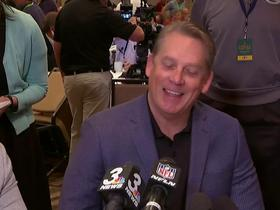 Watch: Jack Del Rio: 'Mixed emotions after yesterday'
