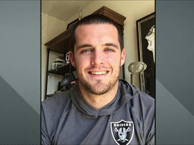 Watch: Derek Carr: If they come watch us play, we won't let our fans down