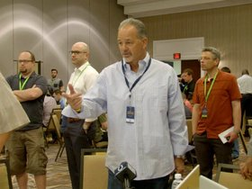 Watch: NFL Owners Meetings: Pagano On Draft Needs