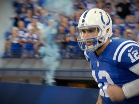Watch: NFL Owners Meetings: Pagano On Luck Timetable