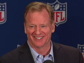 Watch: Goodell: 'I plan to be at the kickoff game' in New England