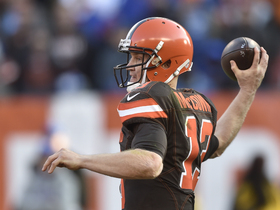 Watch: Rapoport: McCown will have to compete for Jets starting QB job