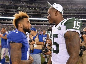 Watch: Brandon Marshall on choosing Giants: 'I wanted to go out a winner'