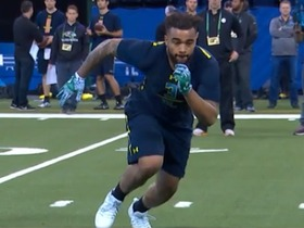Watch: Derek Barnett 2017 Combine Workout