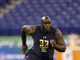 Watch: Taylor Moton 2017 Combine Workout
