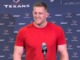Watch: J.J. Watt: T.J. is 'further along than I was' at this point