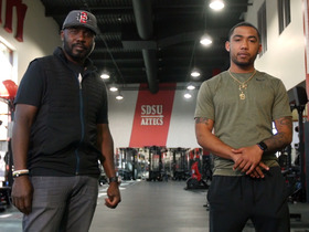 Watch: Back2Campus: Marshall Faulk and Donnel Pumphrey at San Diego State