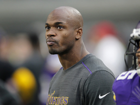 Watch: Adrian Peterson agrees to 2-year contract with Saints