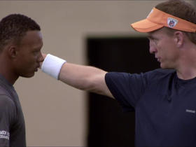 Watch: Joshua Dobbs on learning from Peyton Manning