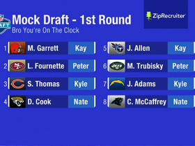 Watch: Bro, you're on the clock: Who would you draft if you were a GM?