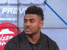 Watch: Jeremy McNichols on Jay Ajayi's draft advice: 'Keep a level head'