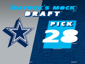 Watch: Mayock mock draft - No 28: Cowboys
