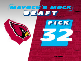 Watch: Mayock mock draft - No. 32: Cardinals (from Saints)