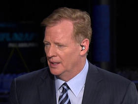 Watch: Goodell on draft locations: I think we'll continue to move it around