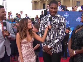 Watch: Malik McDowell walks the NFL Draft Red Carpet