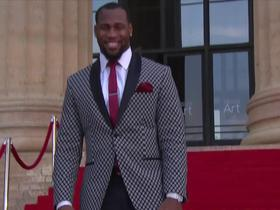 Watch: Haason Reddick gets warm welcome from Philly fans on the Red Carpet