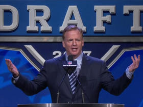 Watch: Goodell: 'Come on, Philly. Come on