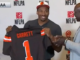 Watch: Browns select Myles Garrett No. 1 in the 2017 NFL Draft
