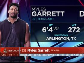 Watch: Mayock: Myles Garrett 'has everything you want in a future All-Pro'