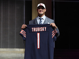 Watch: Bears select Mitchell Trubisky No. 2 in the 2017 NFL Draft