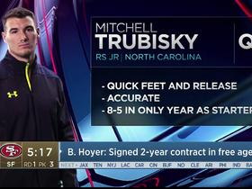 Watch: Mayock: Mitchell Trubisky's an accurate, athletic QB