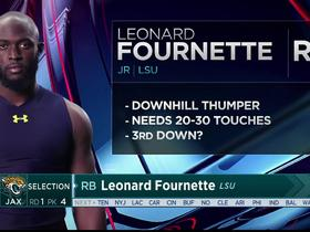 Watch: Mayock: Leonard Fournette a physical, downhill runner