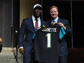 Watch: Jaguars select Leonard Fournette No. 4 in the 2017 NFL Draft