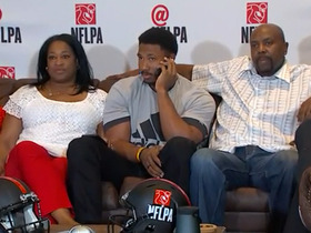 Watch: Myles Garrett reacts to being drafted No. 1 overall