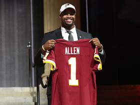 Watch: Redskins select Jonathan Allen No. 17 overall in the 2017 NFL Draft