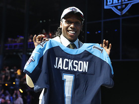 Watch: Instant Draft Grade Adoree' Jackson: B+